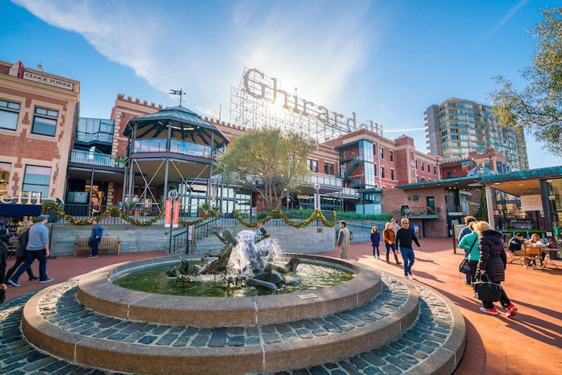 Ghirardelli Square -Choses à faire à San Francisco