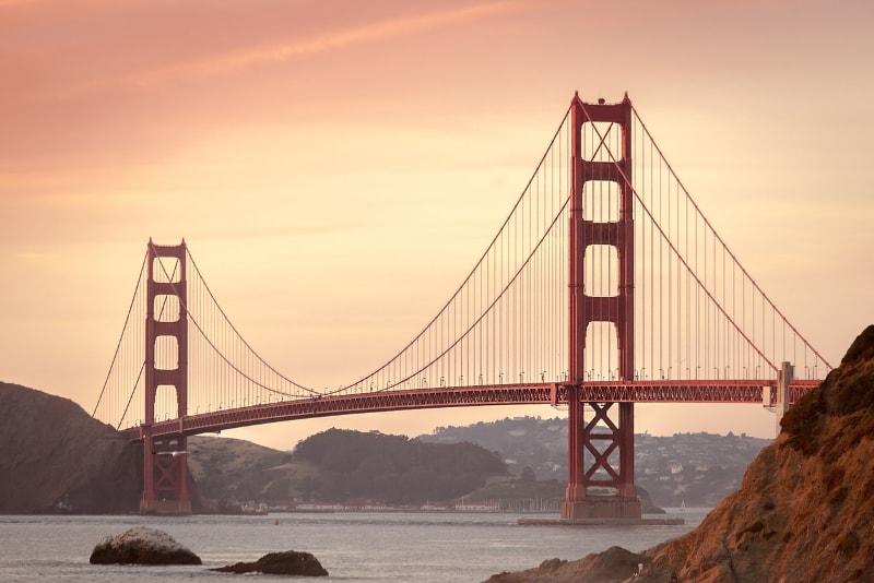 Le Pont du Golden Gate - Où Partir en Vacances - Voyages de Rêve