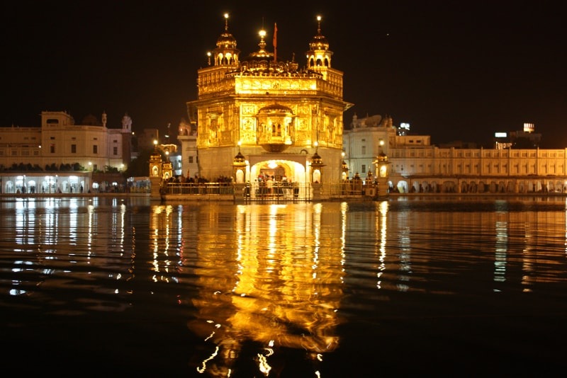 Golden Temple in Amritsar, India -Bucket List ideas