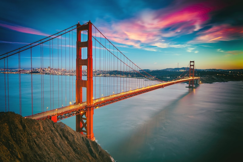 The Golden Gate Bridge - Things to do in San Francisco