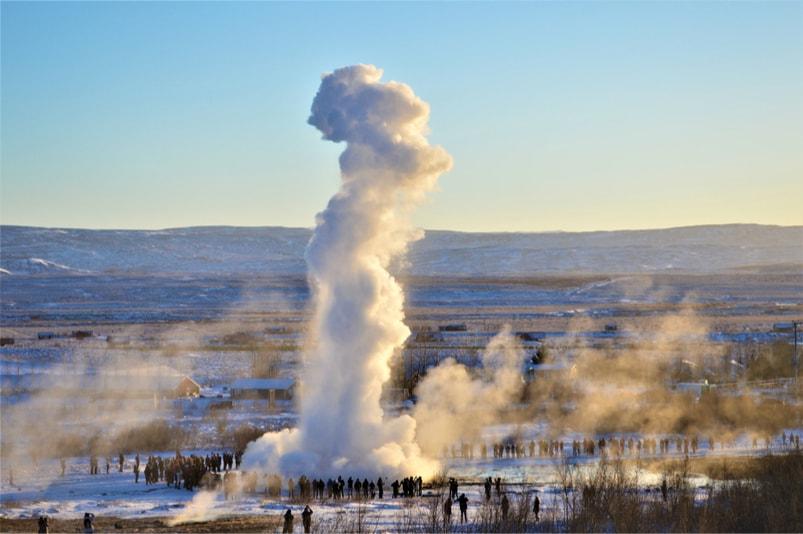 Great Geysir in Haukadalur, Iceland - Bucket List ideas