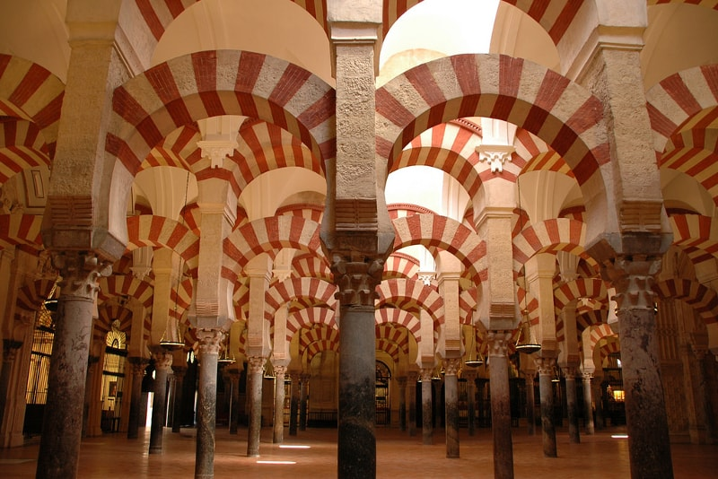 Great Mosque of Cordoba in Spain - Bucket List ideas