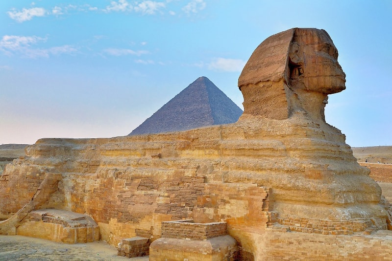 The Great Sphinx in Egypt - Bucket List ideas
