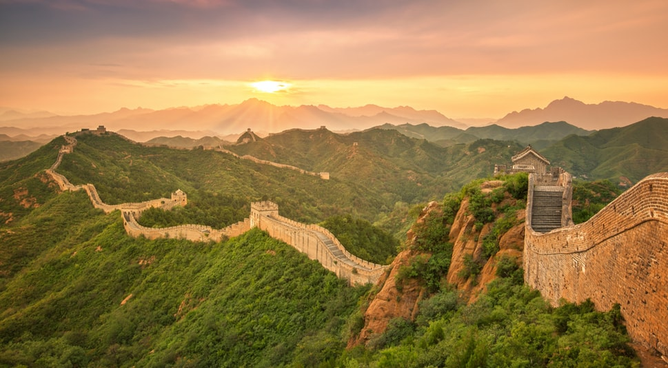 The Great Wall of China -Bucket List Ideas