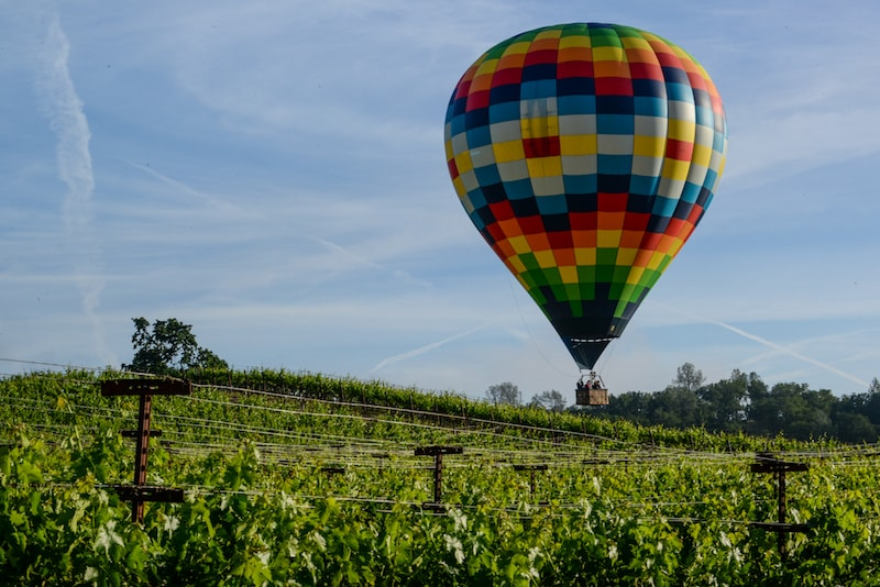 Hot air ballooning in Napa Bay - Things to do in San Francisco