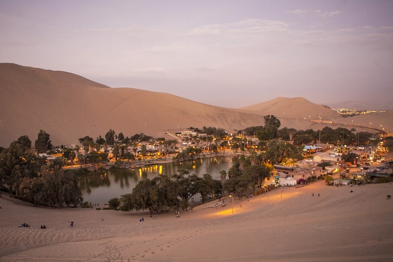Huacachina in Peru - Bucket List ideas