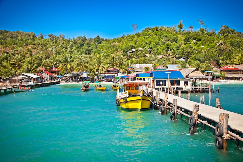 Koh Rong - isole in Asia