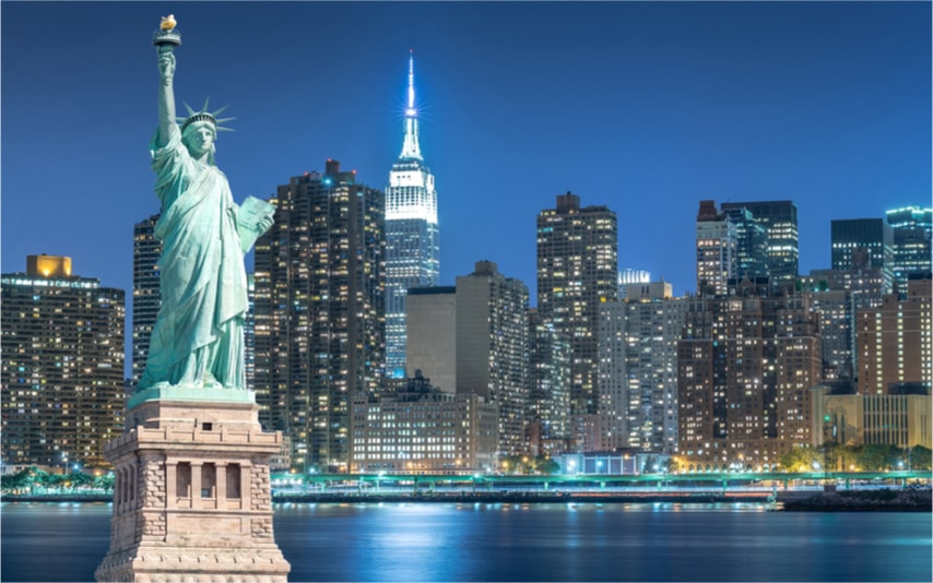 Statue de la liberté - 100 bucket list