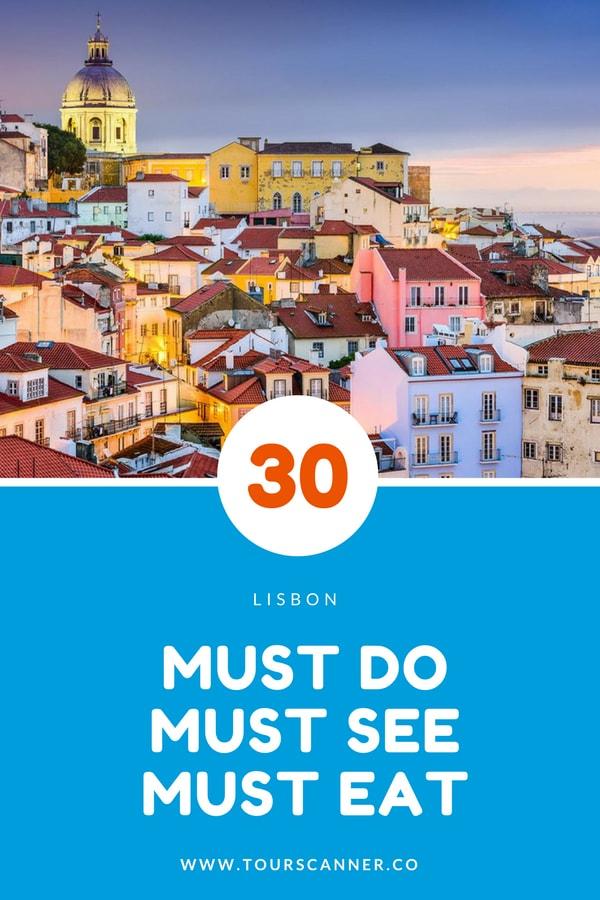 30 Coisas para fazer em Lisboa