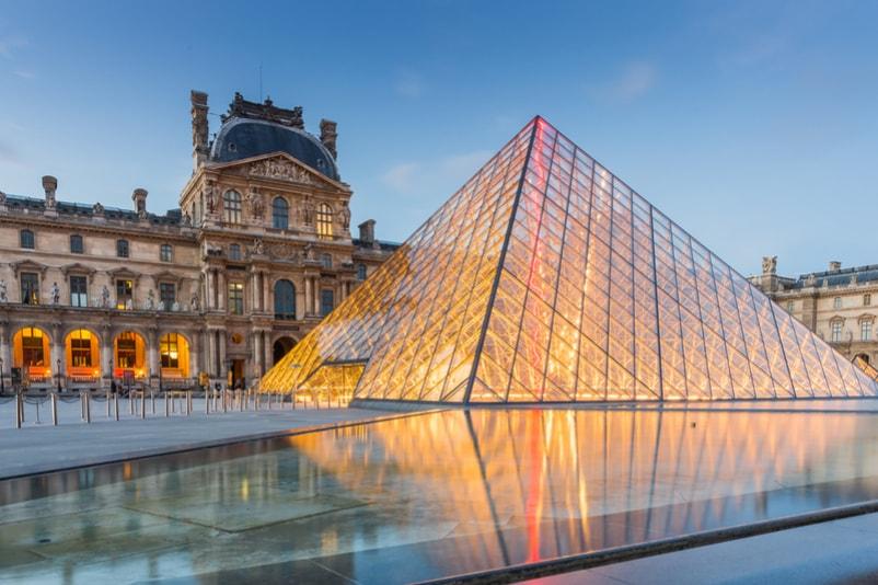 Le Louvre - 100 bucket list