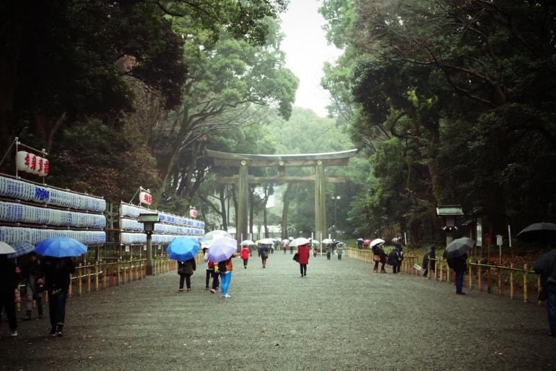 Temple Meiji Jingu - 100 bucket list