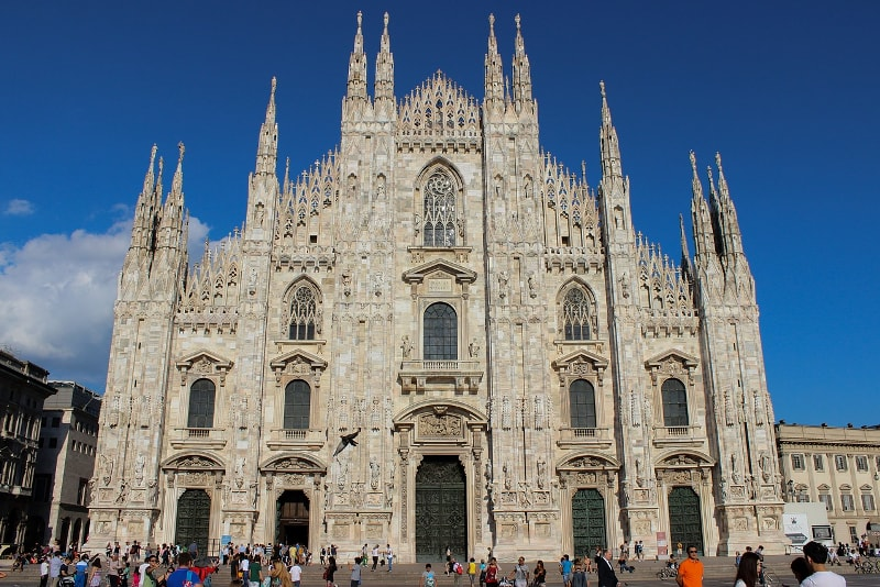 Milan Cathedral - Bucket List Ideas