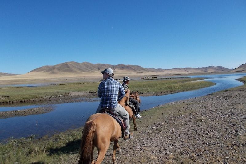 Horse riding in Mongolia - Lista dei Desideri