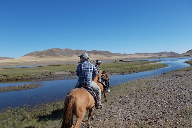 Horse riding in Mongolia - Bucket List ideas