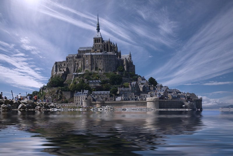 Mont Saint Michel in France - Bucket List ideas