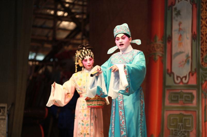 Ópera cantonesa - Coisas para fazer em Hong Kong