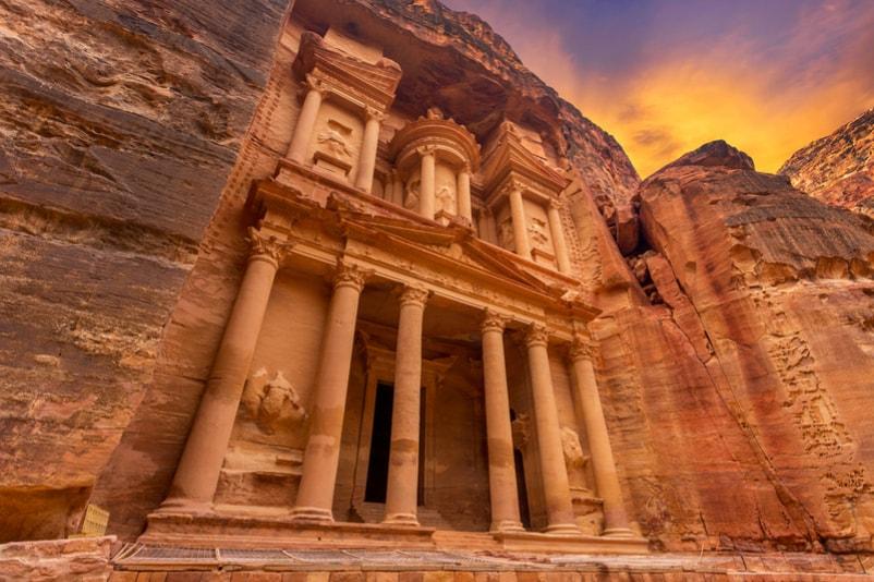 Petra in Jordan - Bucket List ideas