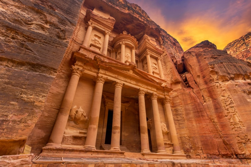 Petra in Jordan - Bucket List ideas