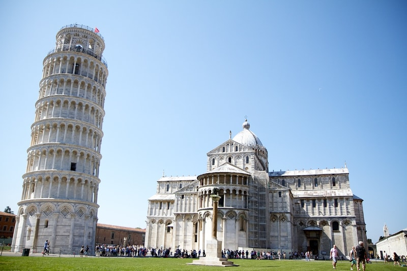 Leaning Tower of Pisa - Bucket List ideas