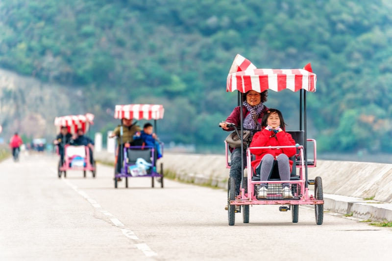 Plover Cove bike ride - things to do in Hong Kong