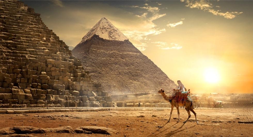 Grande pyramide de Kheops - 100 bucket list