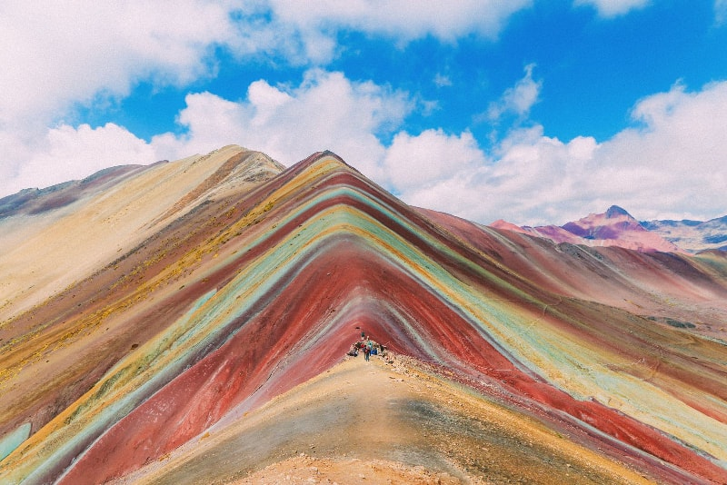 Rainbow Mountain in Peru - Bucket List ideas