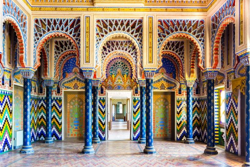 Castello di Sammezzano - places to visit in Italy
