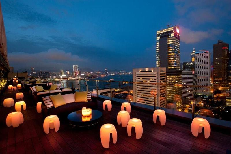 Sevva Rooftop - Choses à Faire à Hong-Kong