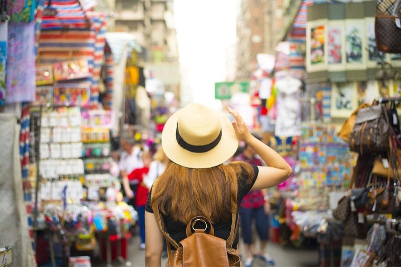Mercado de rua - Coisas para fazer em Hong Kong