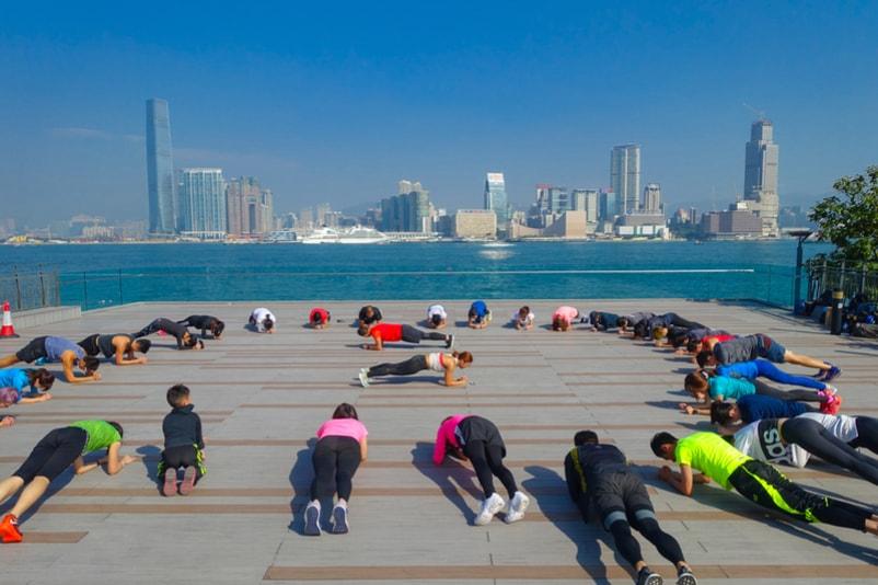 Tai Chi - Coisas para fazer em Hong Kong