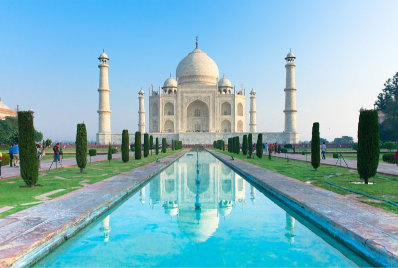 Taj Mahal in Agra, Uttar Pradesh, India - Bucket List Ideas