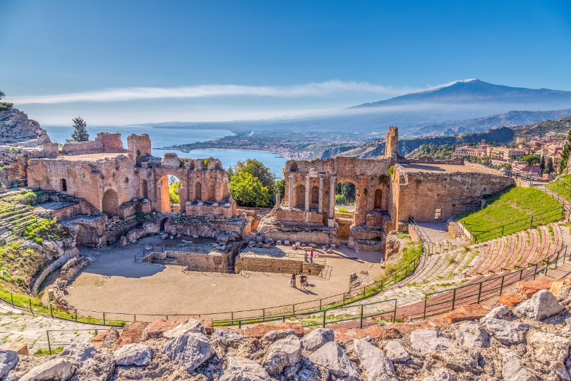 Taormina - places to visit in Italy