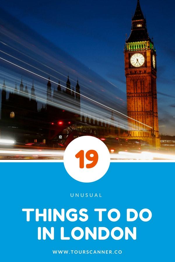 18 Coisas para fazer em Londres
