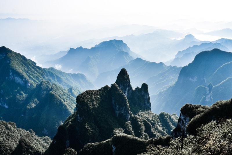 Mont Tianmen - 100 bucket list