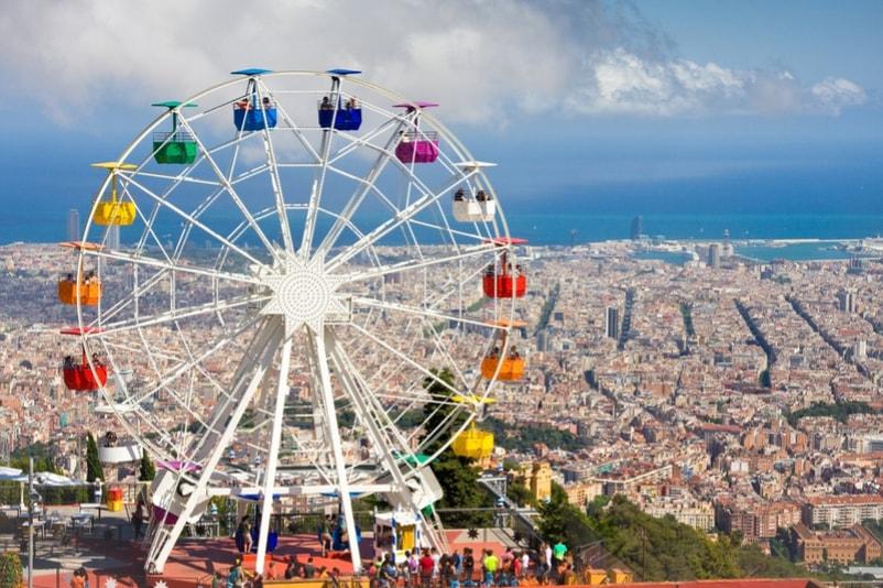 Parco divertimenti Tibidabo - Cose da Fare a Barcellona