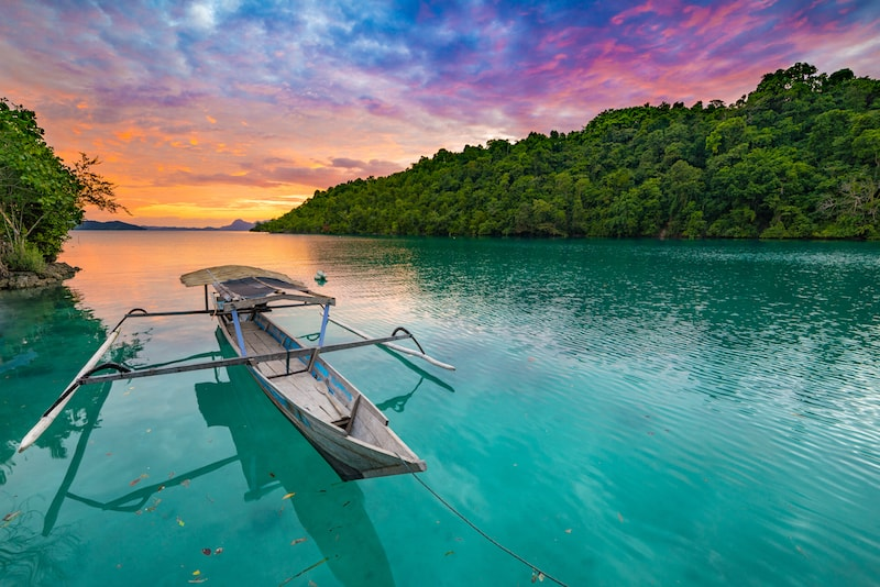 Togean - isole in Asia