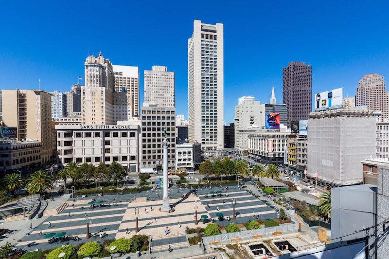 L'Union Square - Choses à Faire à San Francisco