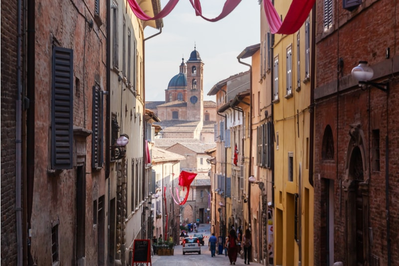 Urbino - places to visit in Italy