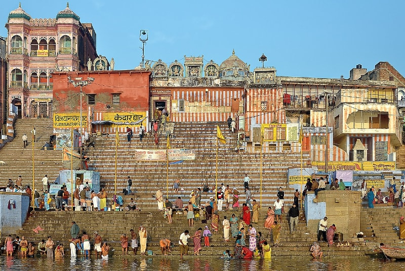 Ganges River in Varanasi in India - Bucket List ideas