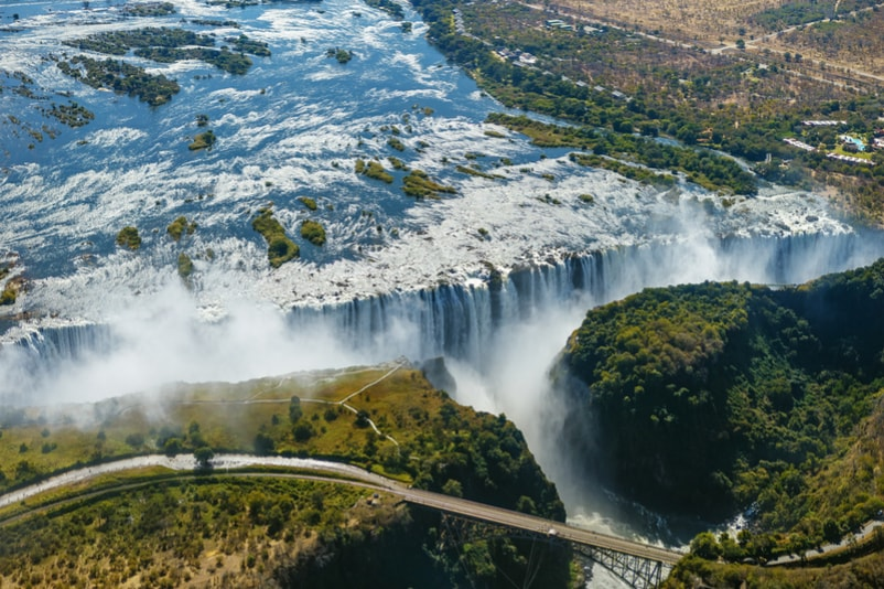 Victoria Falls in Zambia, Zimbabwe - Bucket List ideas