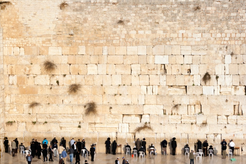 Wailing Wall in Jerusalem - Bucket List ideas