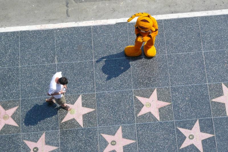 Hollywood Walk of Fame - 100 bucket list