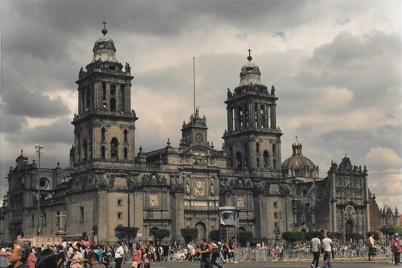 The Zocalo in Mexico - Bucket List ideas