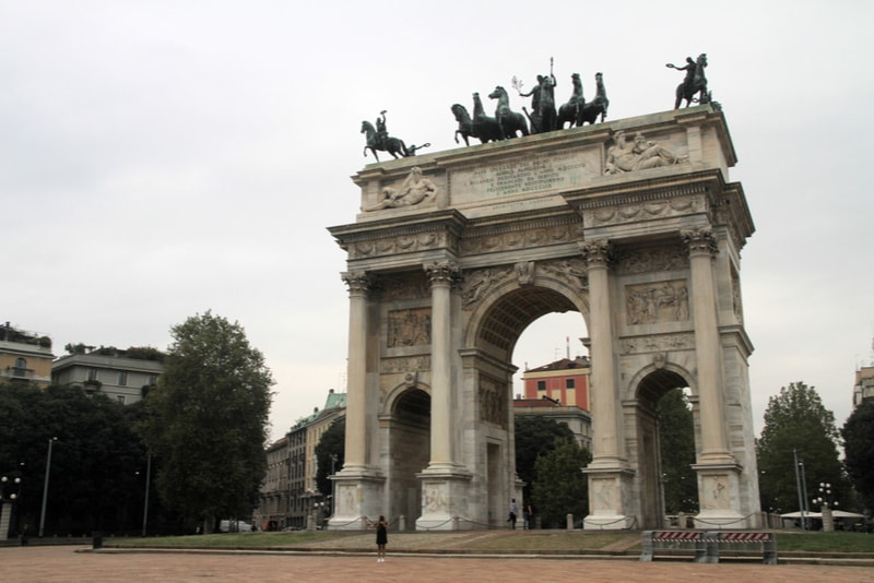 Arco-della-Pace-what to do in milan