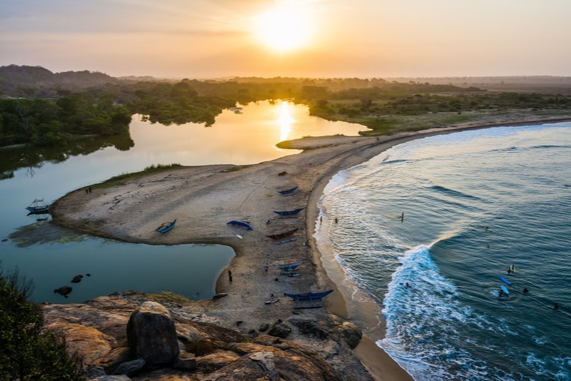 Arugam Bay Sunset Waves - Places to Visit in Sri Lanka