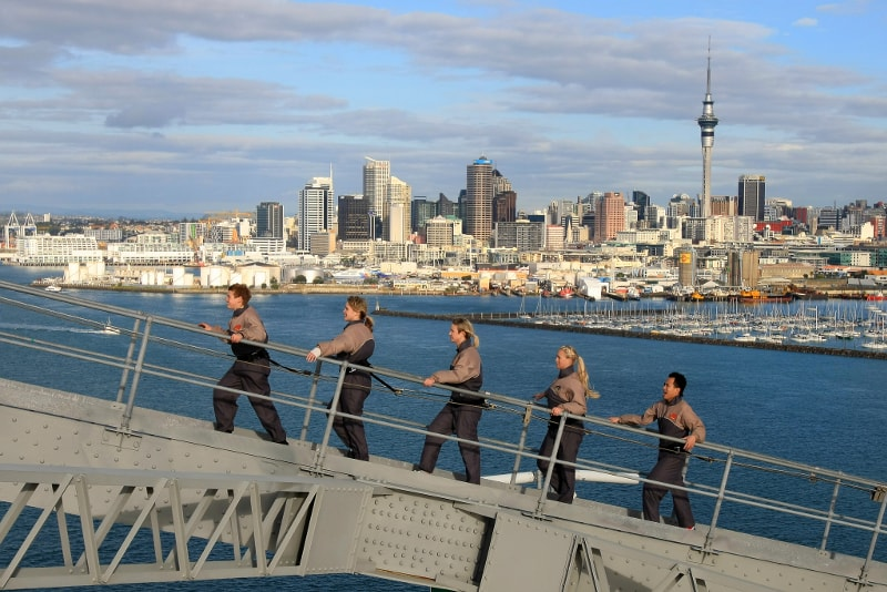 Auckland Harbour Bridge climb - Fun things to do in New Zealand