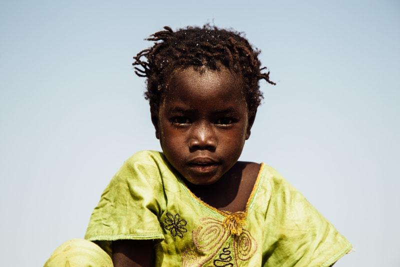 Enfant au Sénégal, photo Hellolaroux - Interview Hellolaroux
