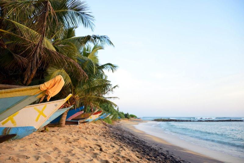 Mirissa Tropical Beach - Places to Visit in Sri Lanka