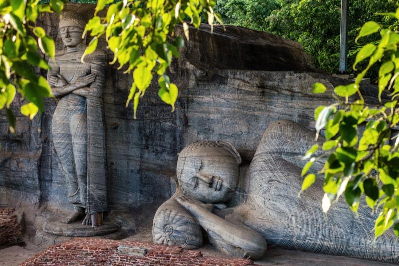 Polonnaruwa Gal Vihara - Places to Visit in Sri Lanka