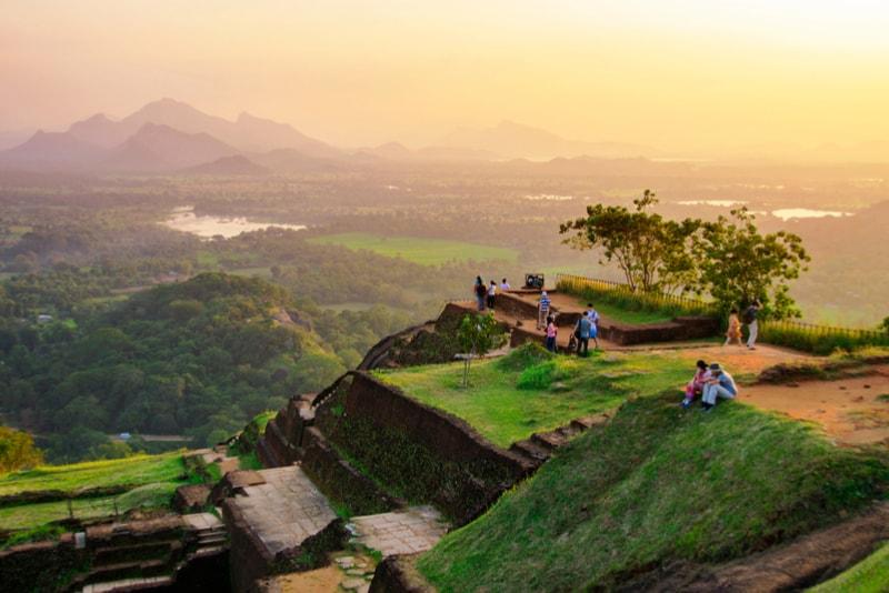 Sigiriya Lion Rock Landscapes - Places to Visit Sri Lanka
